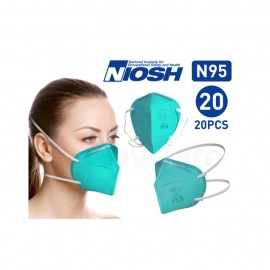BYD Care N95 Respirator Surgical Mask NIOSH Approved (20PCS/Box)