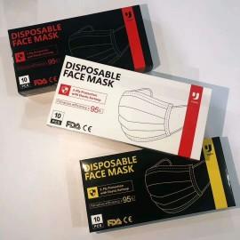 Yuzhi 3 Layers Filter Medical Mask (Disposable Individual Package 10PCs)