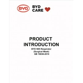 BYD Care N95 Respirator Surgical Mask (25PCS/Box)