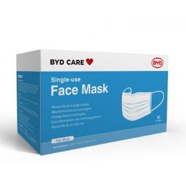 BYD Care Single-use Face Mask  Type I (50PCs/Box)