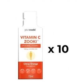 YourZooki Liposomal Vitamin C Zooki™ | YourZooki | 10 (1000mg) Sachets for 10 days